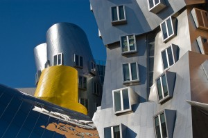 Frank Ghery's Stata Centre Building in MIT, Cambridge.